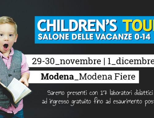 Ci vediamo al Children's Tour!